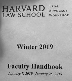 Harvard Law School Trial Advocacy Workshop